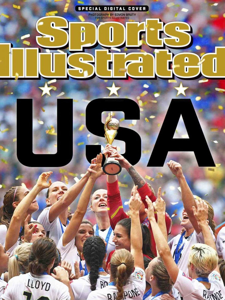 SI Cover - USWNT World Cup Champions